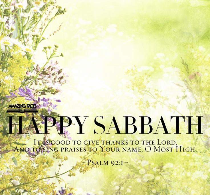 sabbath 5-12-17